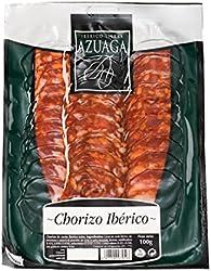 Azuaga - Lonchas De Chorizo De Cerdo Ibérico Extra Envasadas Al Vacío 100 g