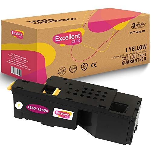 Excellent Print 1250 1250C Compatible Toner cartridge for Dell 1250c 1350cnw C1765 C1760