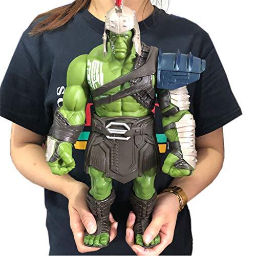 DMYONGLIAN Modelo de Personaje 35 cm tamaño Grande Thor 3 Manos Moveable Hammer Battle Hulk BJD Figura de acción Modelo de Juguete decoración hogareña (Color : No Retail Package)