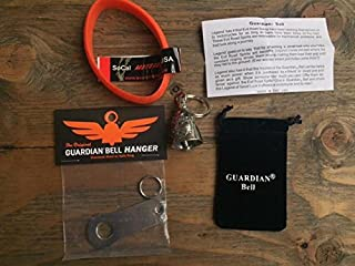 CAT GUARDIAN BELL COMPLETE MOTORCYCLE KIT W/ HANGER & WRISTBAND
