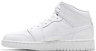 [ナイキ] Air Jordan 1 Mid [並行輸入品] - 554725126 - Color: 白 - Size: 24.5