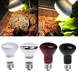 Autone E27 25/50/75/100W Day Night Reptile Amphibian Bird Snake Heat Lamp Infrared Emitted Bulb Light