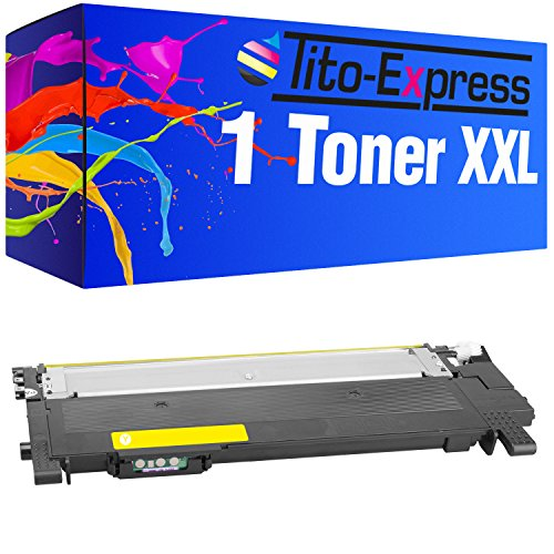 Tito-Express PlatinumSerie 1 Toner XXL kompatibel mit Samsung CLT-Y404S Yellow | C430W C480W C480FN C480FW C482W SL-C430 SL-C430W SL-C480W SL-C480 SL-C480FW SL-C480FN SL-C483 SL-C483FW SL-C483W