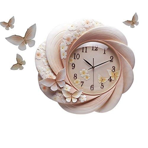 WDWL Arte Reloj De Pared Moderno Minimalista Decorativo Reloj Personalidad Creativa Relojes Sala De Estar Mesa Hogar Silencio Luz Reloj WD