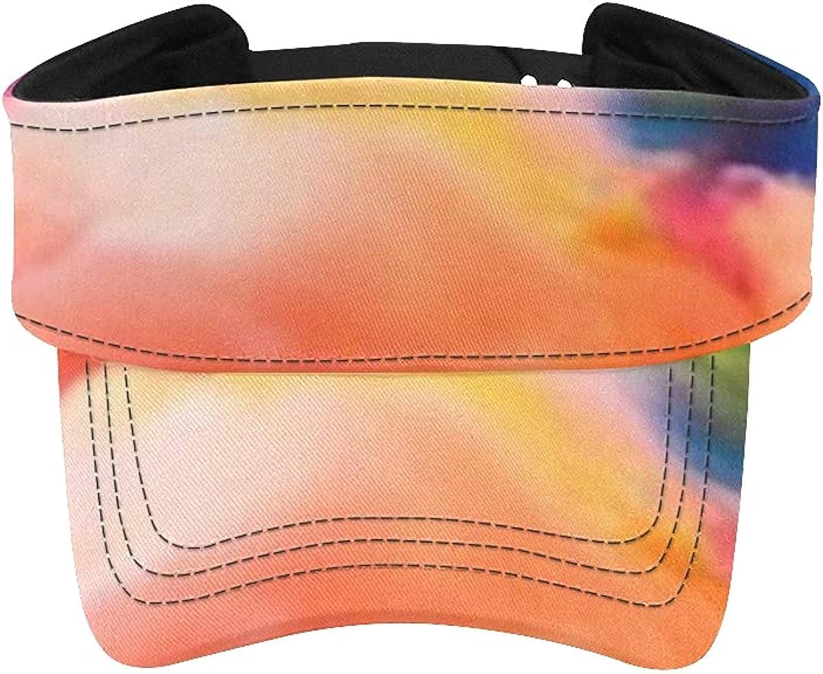 Sun Manufacturer direct delivery Visor Louisville-Jefferson County Mall Hat Color Splash Design Series Viso Fractal Background