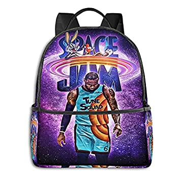 Space Jam 2 A New Legacy Unisex Cute Backpack Boys And Girls Backpacks Bookbags For Teens Travel Cycling 16 X 24 Inch