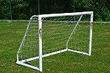 Netsportique ¡SUPER OFERTA! Portería de fútbol POWERSHOT  1,8 x 1,2 m, de PVC y anti-UV, con BOLSO incluido y 2 años de GARANTIA!!