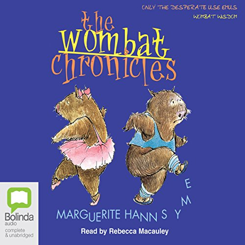 The Wombat Chronicles audiobook cover art