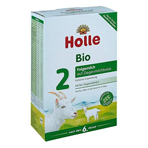HOLLE Bio Folgemilch 2 auf Ziegenmilchbasis Pulver 400 g