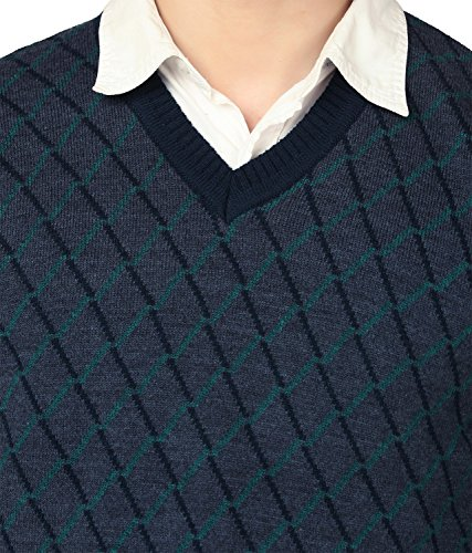 aarbee Men's Blended V Neck Sweater 5 51hOKuwRbTL. SL500