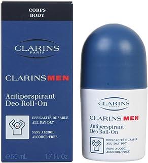 Clarins Antiperspirant Deo Roll-On for Men - 1.7 oz Deodorant Roll-On, 51 ml