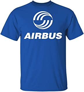 Cool Airbus T-Shirt Funny Air Airlines Jet Aviation Airplane Retro 80's Sitcom Airplane T-Shirt
