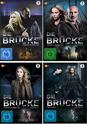Staffel 1-4 (18 DVDs)
