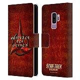 Head Case Designs Officiel Star Trek Discovery Klingon en Look Affligé Insignes Coque en Cuir à...