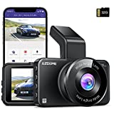 AZDOME M17 WiFi Dash Cam with APP 1080P FHD DVR Car Driving Recorder 3 Inch IPS Screen Dashboard Camera 150° Wide Angle, G-Sensor, Parking Monitor, Loop Recording, Super Night Vision, with 32GB Card