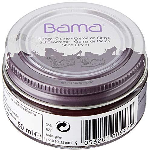 Bama Unisex Pflegecreme 50 ml aubergine Schuhpflegeprodukt