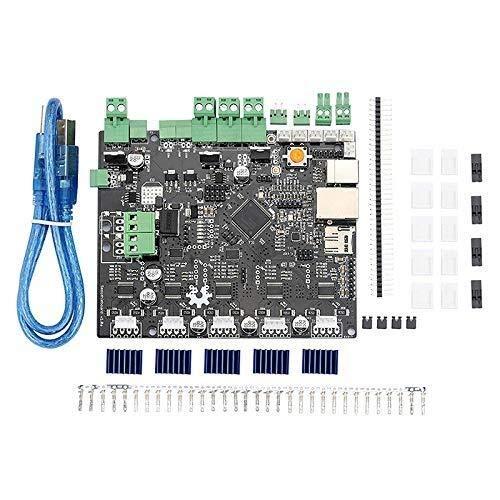 HYY-YY Impresora 3D Máquina de grabado Placa base Junta de control principal Smoothieboard 5X V1.0 CNC Open Source Firmware