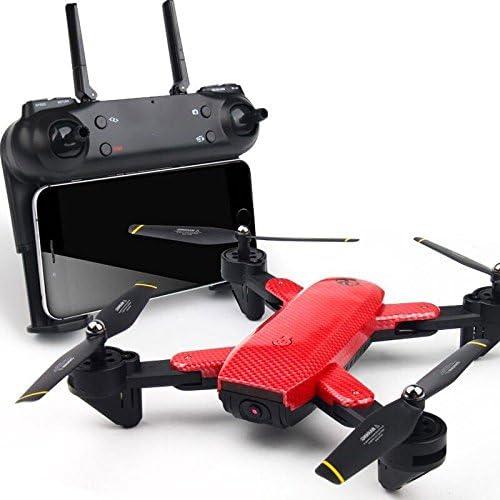 KYOKIM Fernbedienung und Handy-App-Steuerung Drohne Synchron-übertragung Luftaufnahmen 24  18  5cm Flugzeit 12 Minuten und Fernbedienung Entfernung 150 Meter