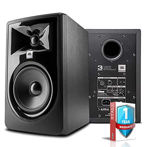 """JBL Professional 305P MkII 5"""" Powered 2-Way Studio Reference Monitor -Includes- Power Cord and Warranty(Renewed)"""