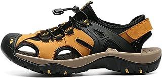 أحذية رجالي من Wagjiestnx، صنادل رجالي صيفية، أحذية رياضية مضغوطة للمشي لمسافات طويلة، شاطئ مائي للعمل في الهواء الطلق وال...