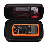 Neoteck Digital Multimeter Carrying Case With DIY Foam Magnetic and Hanger Strap Compatible
