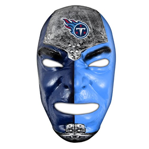 Franklin Sports NFL Tennessee Titans Fan Face Mask - Team Fan Masks for NFL Football Games and Tailgates - Sports Fan Face Mask - Face Paint Masks
