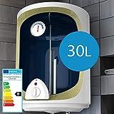 Termo Eléctrico - 30, 50, 80, 100 Litros, 1500W, Termostato - Agua Caliente, Calentador de Agua, Acumulador