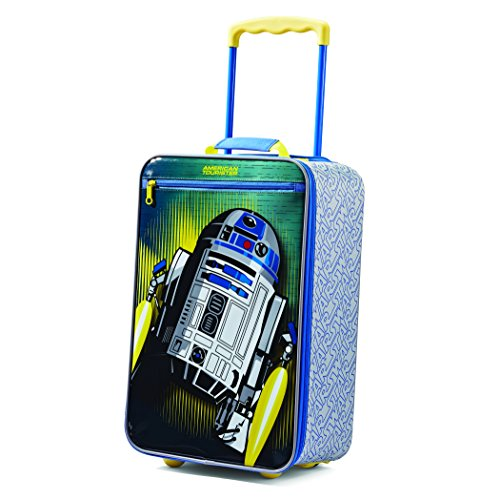 American Tourister Kids Softside Upright Luggage, Star Wars/Multi, Carry-On 18-Inch