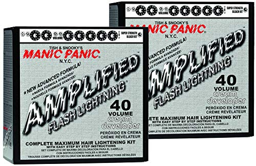 Manic Panic 40 Vol Lightning Hair Bleach Kit (2PK)