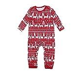 WYDM Pijamas navideños a Juego para la Familia, Pijamas a Juego, Ropa de salón de Hadas, Ropa de Dormir para Adultos, niños, Ropa de Dormir, Ropa de Dormir, fotografía, Fiesta de Accesorios (A Negro)