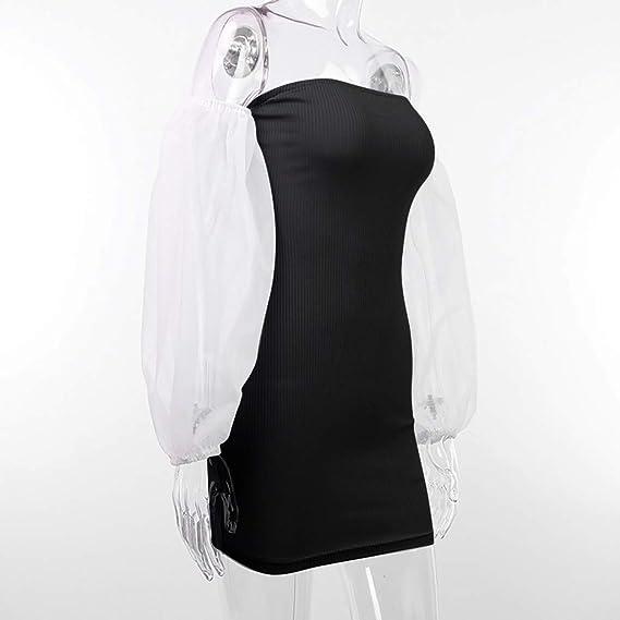 Reooly❤La Sra Atractiva Hilo de Costura Neta Puff el ...