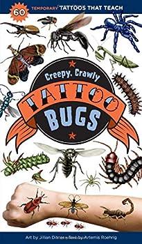 Creepy Crawly Tattoo Bugs  60 Temporary Tattoos That Teach
