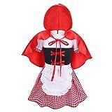 iiniim Bébé Fille Petit Chaperon Rouge Fancy Robe Déguisement Cosplay Costume...