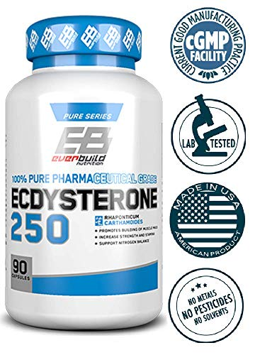 Ecdysterone 250 mg 90 Kapseln For Building Lean Muscle Mass and Loose Body Fat