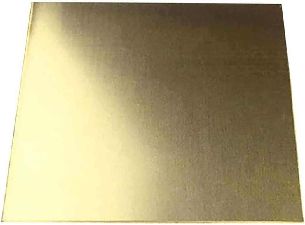 LEISHENT Quality Manufacturer direct delivery Brass Sheet Over item handling 100mm Width Thickness Length