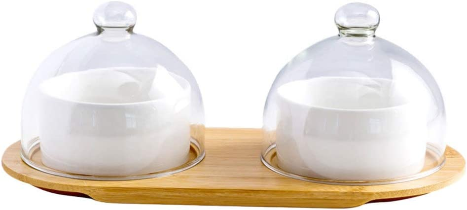 BESPORTBLE Mini Cake Domes Stand free Dessert Directly managed store Ceramic Fruit with