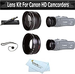 New 2.0X High Definition Telephoto Conversion Lens for Canon VIXIA HF G20 58mm