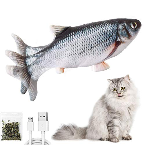 (50% OFF) Floppy Fish Rechargeable Cat Toy $6.50 – Coupon Code