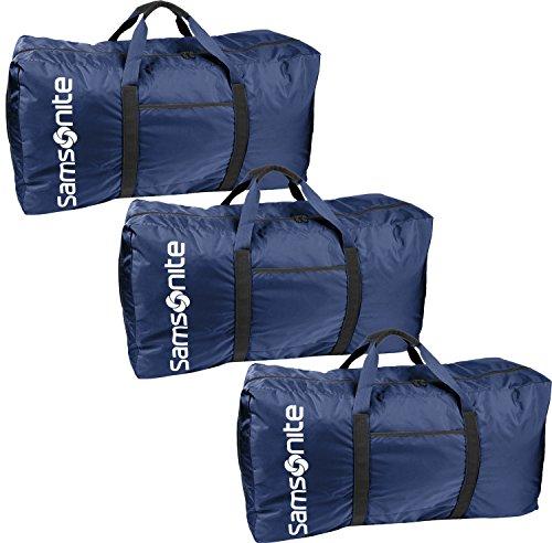 Samsonite Tote-A-Ton - Borsone da 32,5 cm, colore: Blu navy, confezione da 3