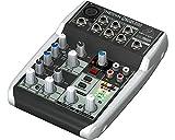 Behringer Q502 USB mixer passivo interfaccia audio per karaoke, live, home recording, studio project