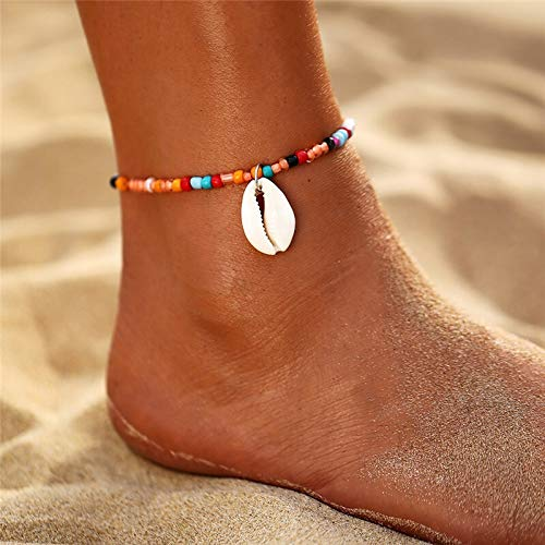 ZBXCVZH Mariposa, tenis Anklet con pedrería, joyas para mujeres Crystal Butterfly Pendant Anklet Beach Foot cadena pulsera (metal color: OV50332)