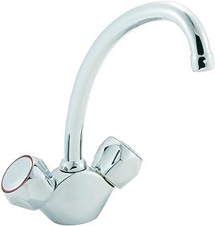 Deva CMS191 Profile Contract Mono Sink Mixer Tap with Chrome Finish