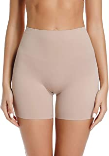 Slip Shorts for Under Dresses High Waisted Anti Chafing Underwear Smooth Under Skirt Shorts