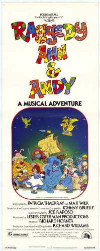 Movie Posters Raggedy Ann and Andy - 27 x 40