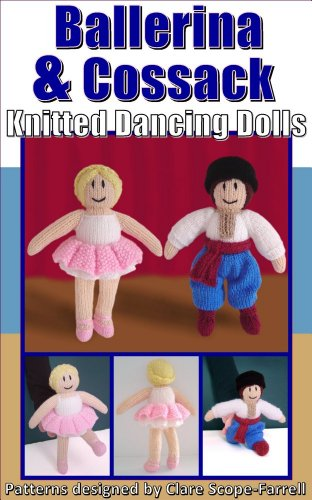 Ballerina Cossack Knitted Dancing Dolls Knitted Dancing Doll