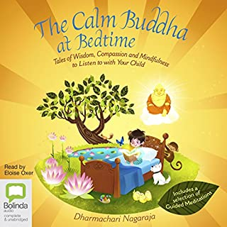 The Calm Buddha at Bedtime cover art