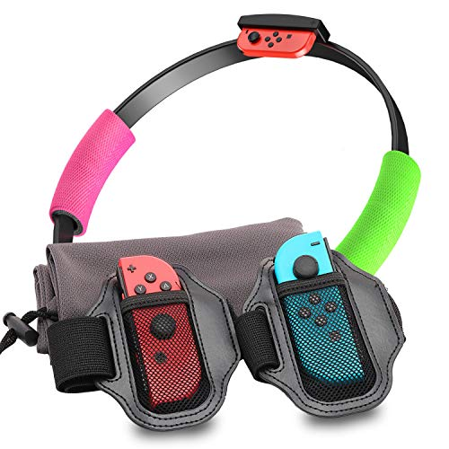 Accessories for Nintendo Switch Ring Fit Adventure, 2 Leg Straps for...