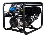 HYUNDAI HY-HY6000 Generador gasolina, 4 W, 230 V, Negro, Mediano