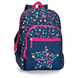 Mochila 44cm adaptable a carro Movom Nice Flowers
