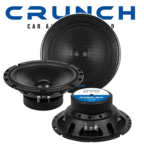 Crunch GTS6.2W - 16cm Mitteltöner Kickbass TMT Lautsprecher GTS6.2W